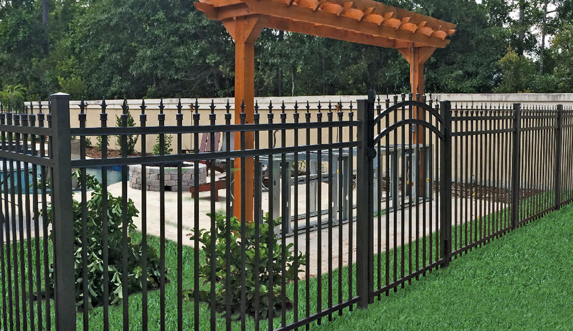Popular Aluminum Fences